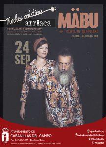 Cabanillas reanuda las «Noches Acústicas – Ciclo de Mujeres Creadoras» con el concierto de Mäbu y Olivia de Happyland