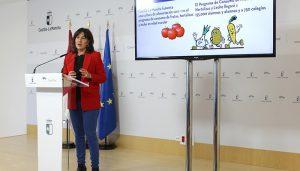 Castilla-La Mancha fomenta la vida saludable en los centros educativos con una nueva convocatoria de los programas de consumo de frutas, hortalizas y leche