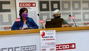 CCOO anuncia un otoño caliente en el sector sociosanitario privado de atención a la Dependencia para exigir un convenio digno