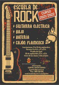 Cuenca abre el periodo de matriculación a las Escuelas de Rock y de Cine así como a la nueva Escuela Infantil de Cine