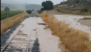 Cuenca pierde otro tren por culpa del temporal
