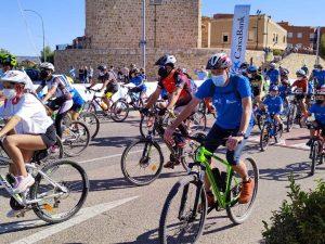 Guadalajara disfruta de una jornada deportiva y de hábitos saludables en el Día de la Bicicleta