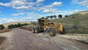 El Gobierno regional inicia las obras de mejora de la CM-2017 entre Turmiel y Milmarcos