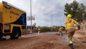 El Gobierno regional moviliza más de 200 efectivos y 80 medios para paliar las consecuencias del temporal en los municipios más afectados