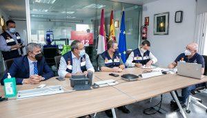 El Gobierno regional pone todos los medios a su alcance a disposición de los municipios más afectados por las fuertes lluvias