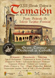 El Mercado Medieval vuelve a Tamajón celebrará su vigésimo segunda edición el próximo fin de semana