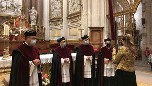 El Pendón de Alfonso VIII vuelve a la Catedral en un acto simbólico en la festividad de San Mateo