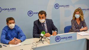 """El PP denuncia que los """"caprichos"""" de Dolz harán perder al Ayuntamiento de Cuenca más de 300.000 euros de subvención del alumbrado"""
