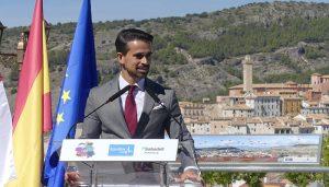 El presidente de AJE Cuenca, Javier Redondo, nombrado también presidente de AJE Castilla-La Mancha