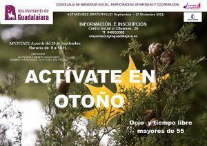 El programa 'Actívate en otoño' para mayores de 55 años de Guadalajara regresa con nuevos cursos como informática, defensa personal o risoterapia