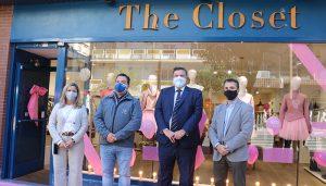 Guadalajara abre el plazo de inscripción para el concurso de 'Escaparates en rosa'