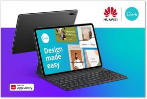 Huawei AppGallery y Canva potencian la creatividad de los usuarios a través de la próxima Serie Huawei MatePad
