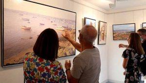 Inaugurada la exposición 'Paisajes urbanos' en la Demarcación de Guadalajara del COACM