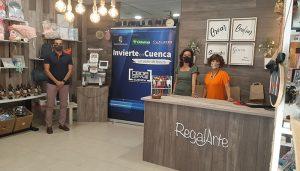Invierte en Cuenca apoya el nacimiento de la tienda de detalles y decoración de eventos, 'Regalarte'