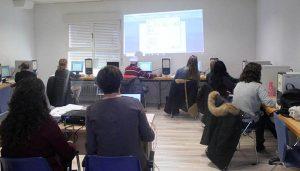 La Biblioteca de Cabanillas ofrece cuatro cursos de iniciación a la Informática en la primera semana de octubre