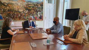 La Diputación colabora en la restauración del aljibe monumental de Valfermoso de Tajuña