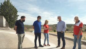 La Diputación de Guadalajara renueva 470 metros de tuberías de agua en Fuentenovilla
