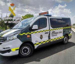 La Guardia Civil de Guadalajara investiga a un conductor por alcoholemia positiva y a una mujer que quiso hacerse pasar por él