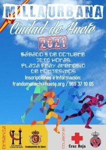 La Milla Urbana Ciudad de Huete vuelve el sábado 9 de octubre a las 2000 horas
