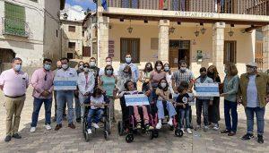 La solidaridad de los vecinos de Trillo recauda 5.688 euros que se han donado a Nipace, Atenpace, Numen y Sicoes