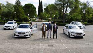 La UCLM presenta sus nuevos vehículos institucionales, fruto de la colaboración público-privada