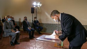 La Universidad de Alcalá cede el Palacio Ducal de Pastrana a la Junta