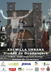 La XXI Milla Urbana 'Ciudad de Guadalajara' se celebrará el viernes 17 de septiembre