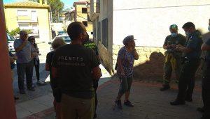 Localizada en Salmeroncillos de Abajo una mujer de 70 años que había sufrido una caída durante un paseo