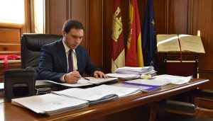 Martínez Chana firma la adquisición de la primera parcela del Parque Científico y Tecnológico de Economía Circular de Cuenca