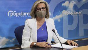 """Merino insiste en que el PP de Paco Núñez está preparado para gobernar desde mañana mismo """"No ha abandonado la región ni un solo día desde que comenzó la pandemia"""""""
