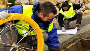Movistar despliega su red de fibra óptica en Alhóndiga, Muriel, Tamajón, Almonacid del Marquesado y El Hito