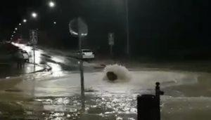 Numerosos avisos y cortes puntuales en varias calles de Cuenca como consecuencia de la tormenta