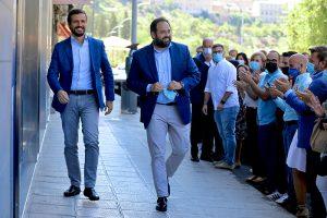 """Núñez abre las puertas de la sede del PP a toda la sociedad """"Podéis entrar sin llamar, aquí hay pocos despachos y mucho espacio para escucharos"""""""