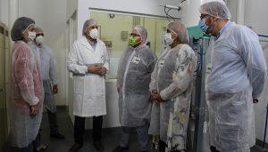 Nuria Chust visita la empresa Harinas Torija para conocer las mejoras implementadas en materia de prevención de riesgos laborales