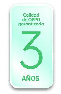 OPPO amplía a tres años la garantía de sus dispositivos premium
