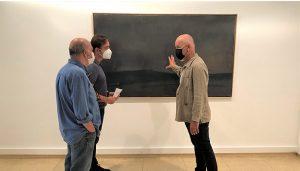 """Reabre la sala de exposiciones de Aguirre con una selección de óleos de Manuel Macías a modo de """"diario imaginario"""""""