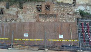 Así están, a 17 de septiembre, las obras de restauración del Alcázar de Guadalajara
