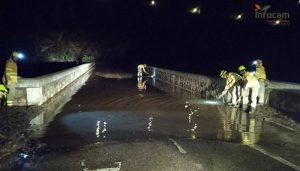 Inundaciones en Iniesta.
