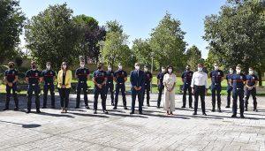 Toman posesión como funcionarios en prácticas trece nuevos bomberos que se incorporarán a la plantilla del Ayuntamiento de Guadalajara a final de año