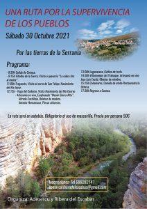 Adesercu y Ribera del Escabas llevan a cabo rutas por los territorios de Cuenca en apoyo de la supervivencia de los pueblos pequeños.
