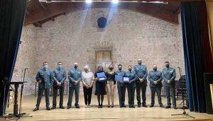 Amparo Donderis y el equipo EMUME de la Guardia Civil, Premios Ciudad de Sigüenza por la Igualdad 2020 y 2021