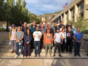 Gran éxito y un alto nivel en el recuperado Certamen de Pintura Rápida Ciudad de Cuenca