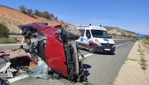 Detenido el conductor de una ambulancia como presunto autor de un homicidio por imprudencia en el accidente de la A-40