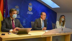El Ayuntamiento de Guadalajara aprueba este viernes el proyecto de ordenanzas fiscales para 2021 con rebaja en IBI, impuesto de vehículos y supresión de la tasa de terrazas