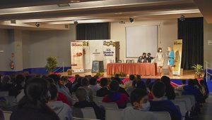 El Ayuntamiento de Guadalajara inicia en el IES Brianda de Mendoza la campaña 'El reto de la orgánica', que llevará a todos los centros escolares