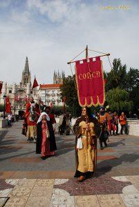 El Grupo CONCA participará en Burgos en la fiesta medieval Jimena y la leyenda del Cid
