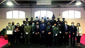 El reconocimiento a la labor de la Policía Nacional durante la pandemia protagoniza el acto institucional con motivo del día del patrón en Cuenca