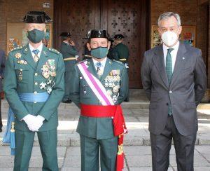 Eurocaja Rural acompaña y felicita a la Guardia Civil el día de su patrona