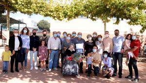 Homenaje a la centenaria Dolores de la Hoz, memoria viva de Cabanillas del Campo