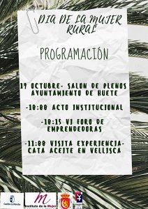 Huete celebrará el Día de la Mujer Rural el 19 de octubre
